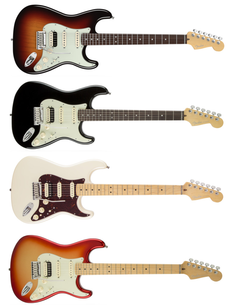american deluxe stratocaster hss shawbucker about guitars. Black Bedroom Furniture Sets. Home Design Ideas